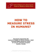 How to measure stress in humans?